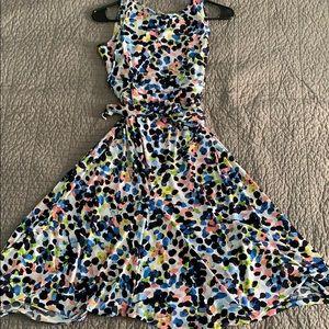 Motherhood Maternity stretchy polka dot dress